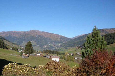 goldener Herbst in Kartitsch in Osttirol